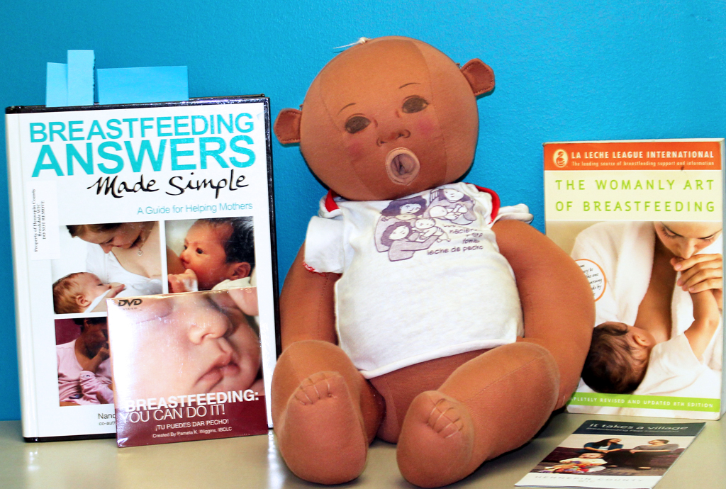 WIC breastfeeding peer counselors