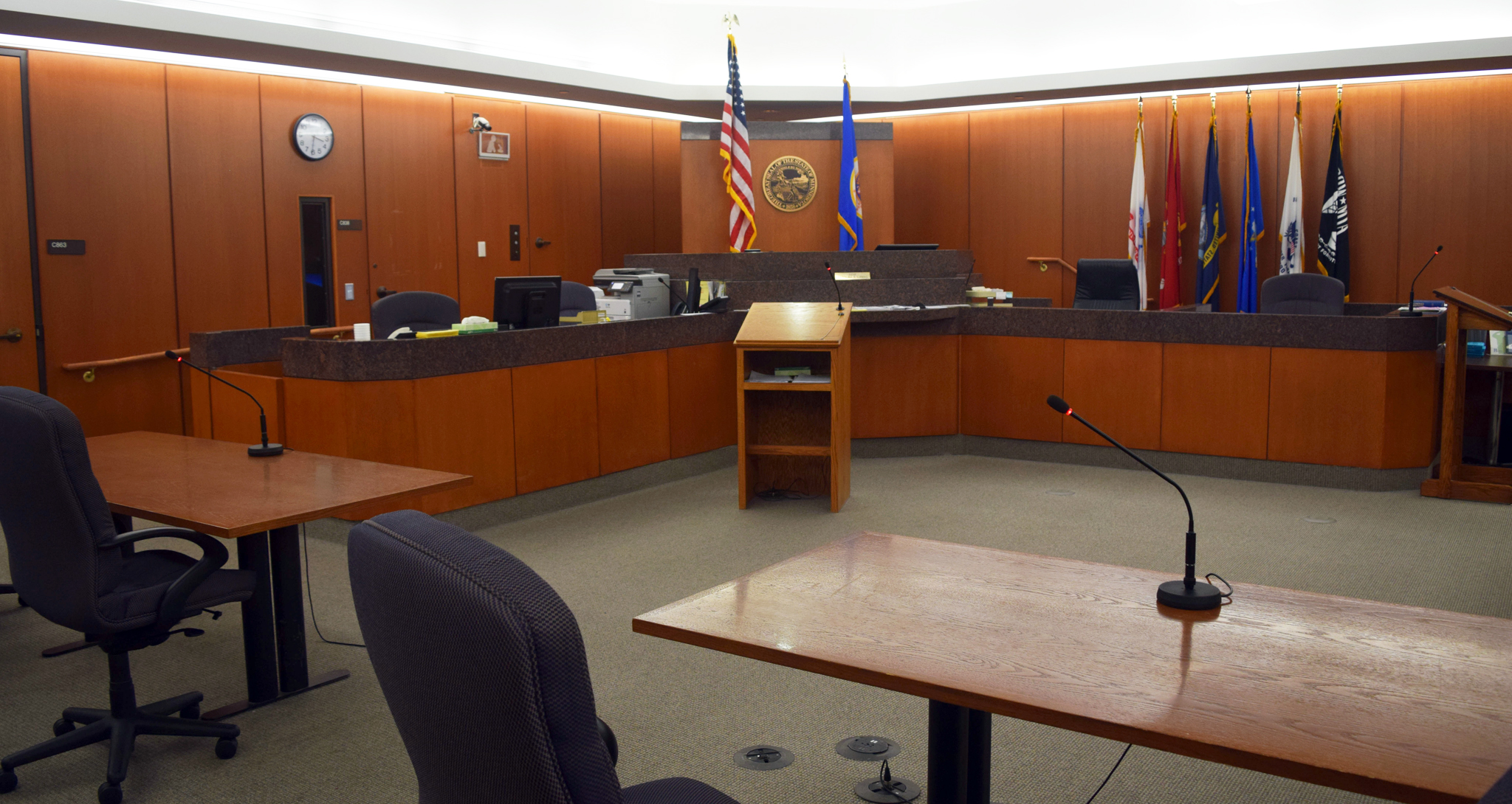 Courtroom at Hennepin County