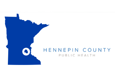 Hennepin County shown within image of Minnesota