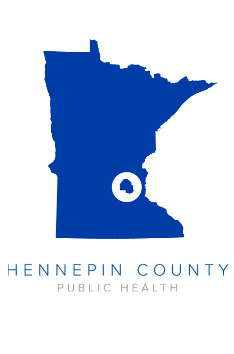 Hennepin County shown inside an image of Minnesota