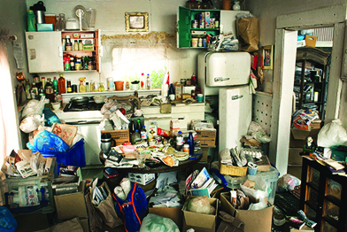 Hoarding disorder affects 2 to 5 percent of the population