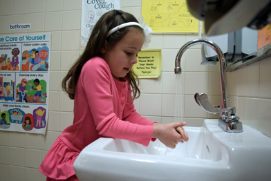 Handwashing prevents the spread of infectious diseases