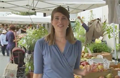 Video of the top ten reasons to visit a farmers market