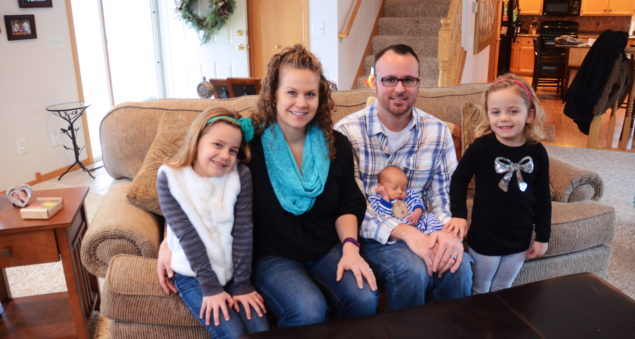 Minnesota family that had their home tested and mitigated for radon