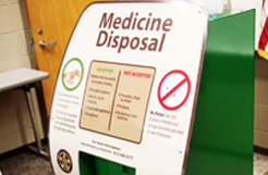 There are places to dispose medications in Hennepin County