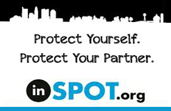 Use InSpot to send an anonymous e-card to someone telling them that you've been exposed to an STD